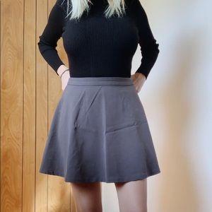 High waisted skater girl skirt